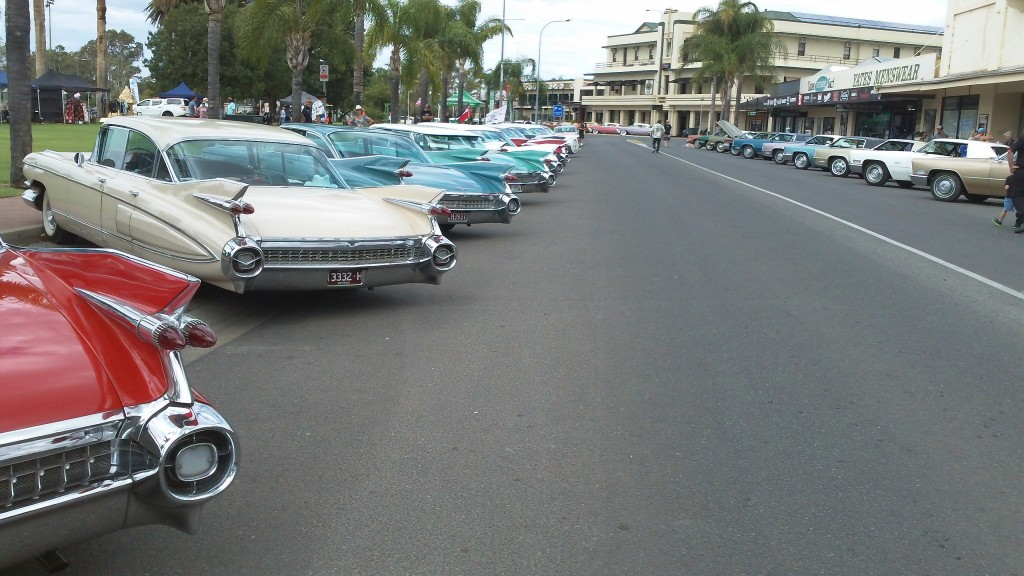 Saturday's car show in Renmark