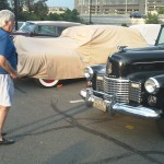 Club icon Yann Saunders admires the '42 Limo