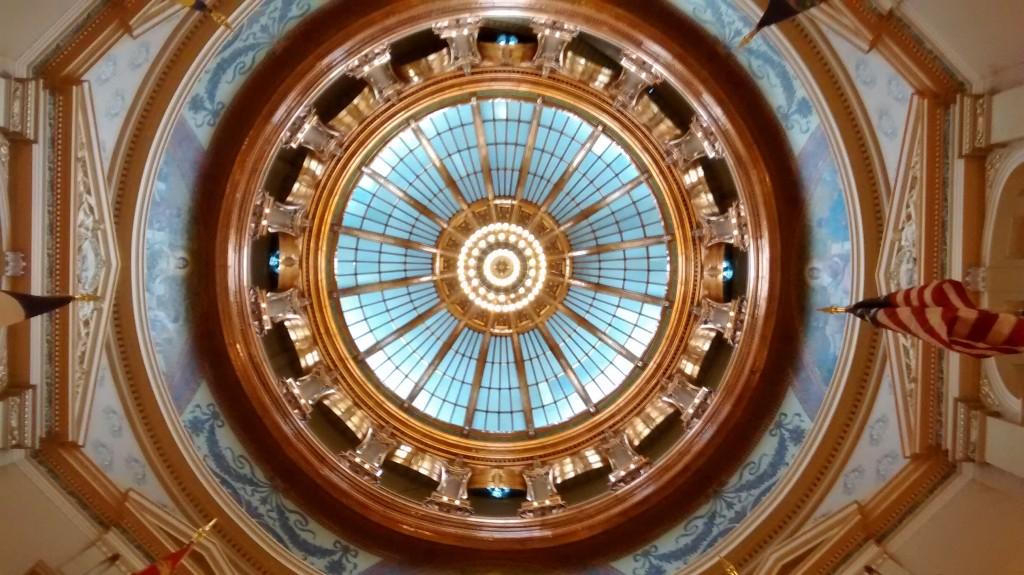TopTown's Big Top: the rotunda awaits