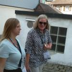 Lauren and Lynn explore the Swiss town Appenzeil