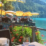 Final luncheon at Lake Lucerne