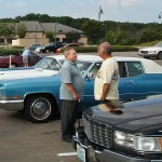 Bill and Vincent discuss those Broughams during last year's Spring drive