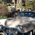 No evidence Benton ever drove a Caddy, but he would have appreciated Don's '54