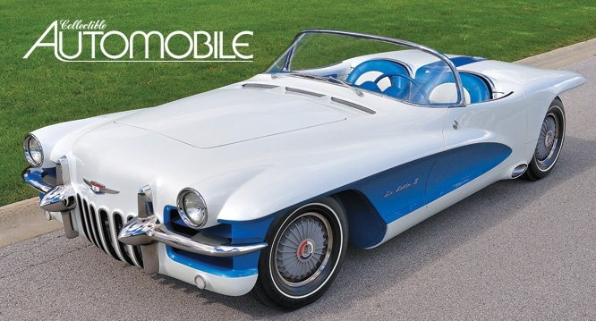 GM reprised the LaSalle name in this '55 concept car