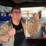 John Rau swore off oil changes, but felt confident enough to try again. Yeah!