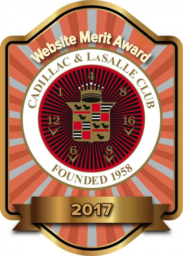 Website of merit award--again!