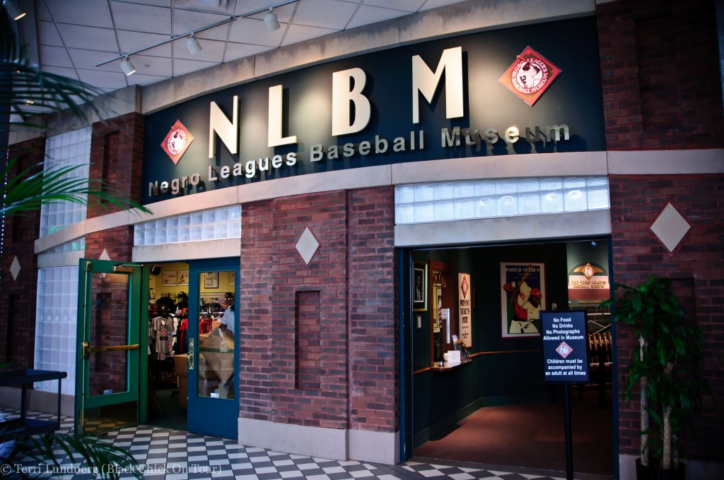 We'll tour the Negro Leagues Museum